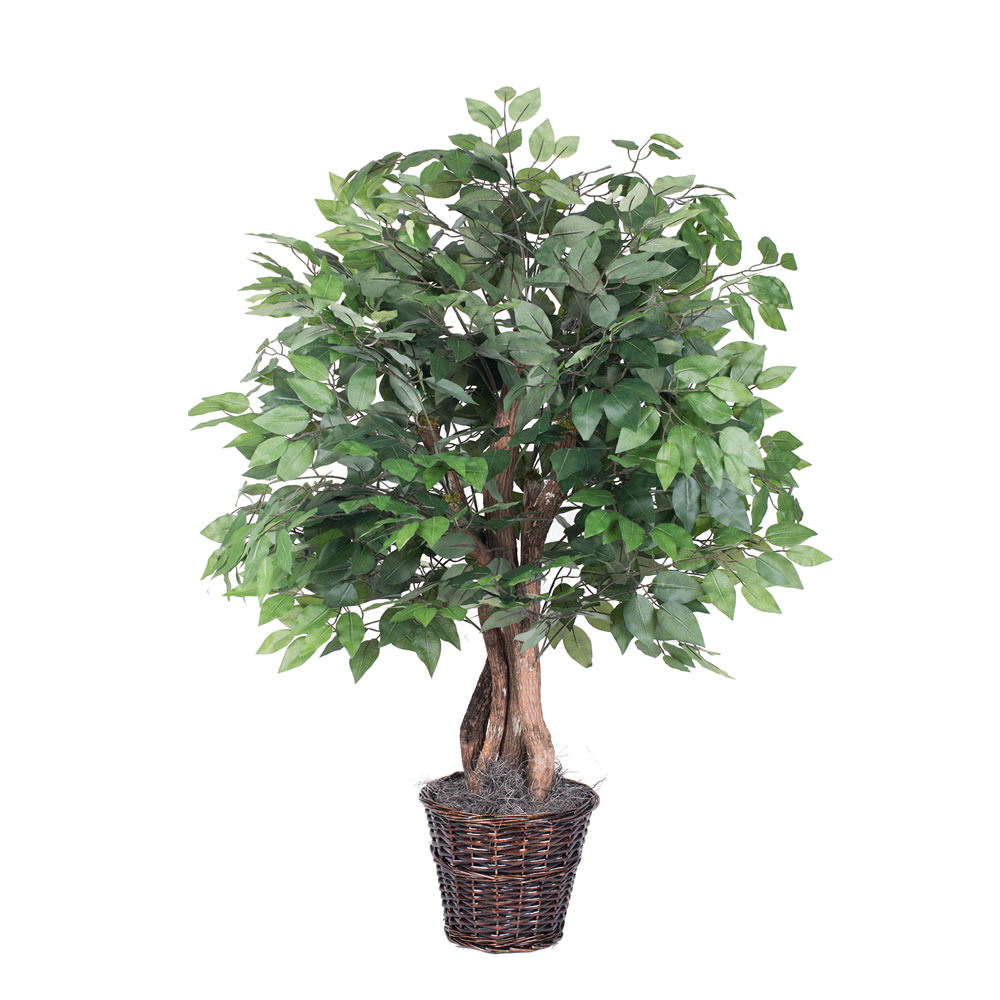 4 Foot Extra Full Ficus Potted Artificial Plant