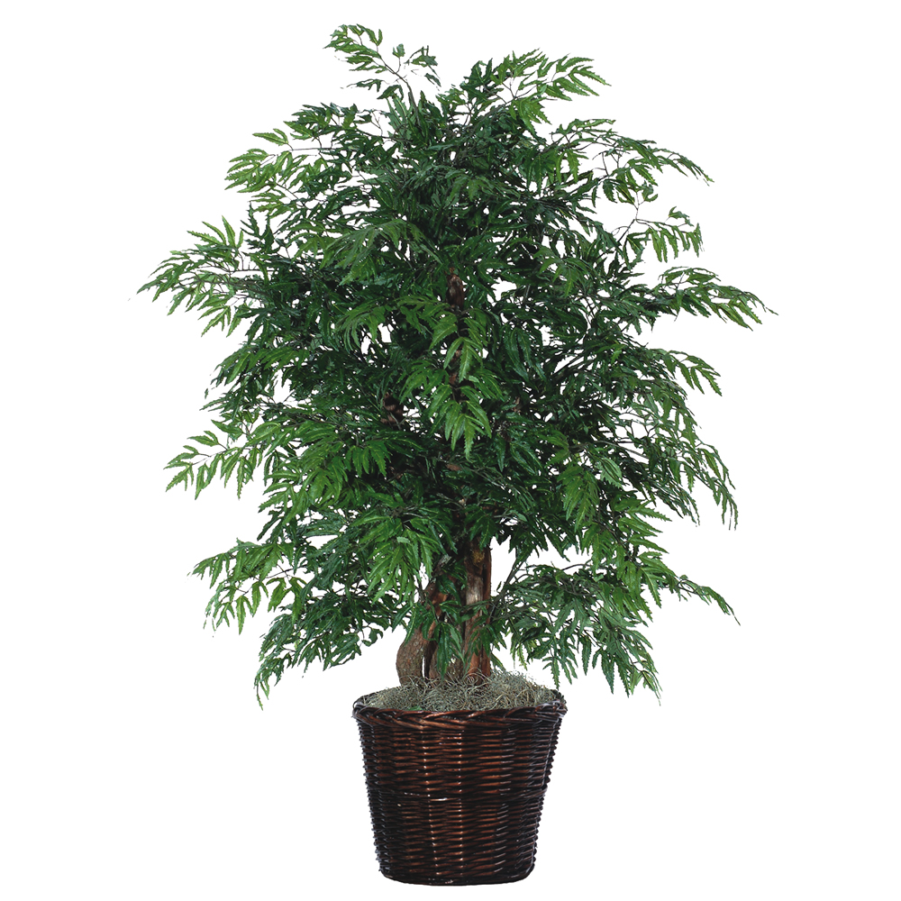 4 Foot Extra Full Ming Aralia Potted Artificial Plant