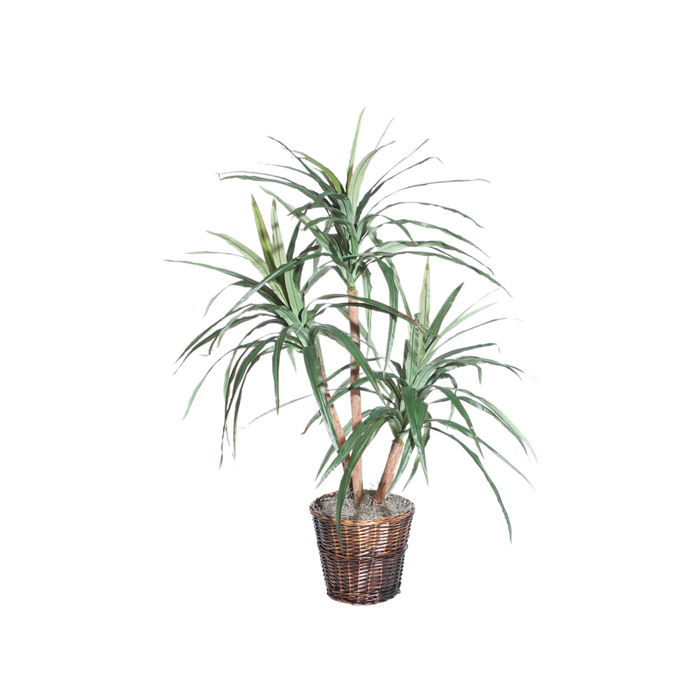 4 Foot Marginata Extra Full Artificial Floor Plant