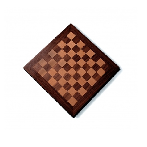 18 Inch Wooden Veneer Chess Board