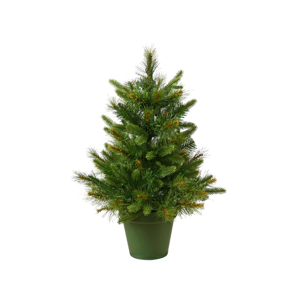2 Foot Cashmere Pine Artificial Christmas Tree  Unlit