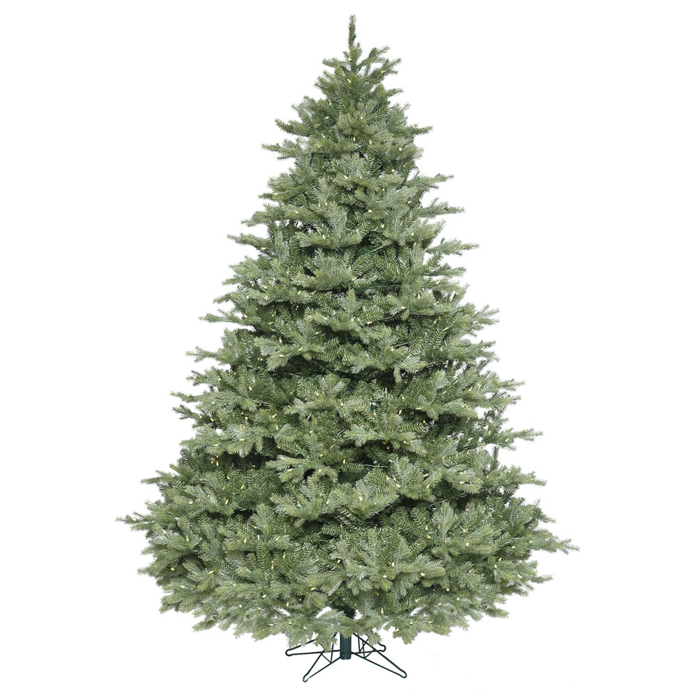 7.5 Foot Idaho Frasier Fir Artificial Christmas Tree 950 LED M5 Italian Warm White Mini Lights