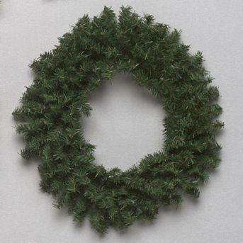 16 Inch Pine Mini Artificial Christmas Wreath Unlit