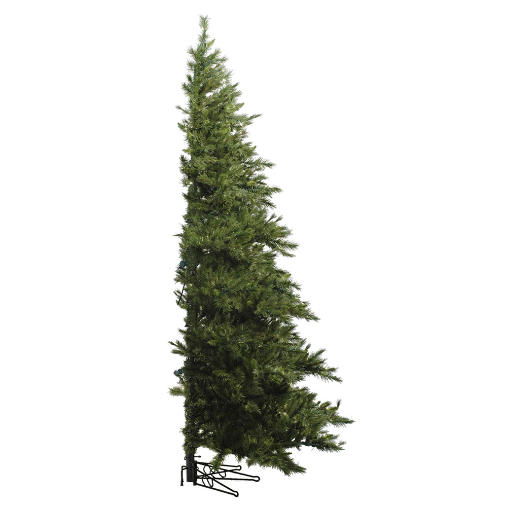7.5 Foot Westbrook Pine Half Artificial Christmas Tree Unlit