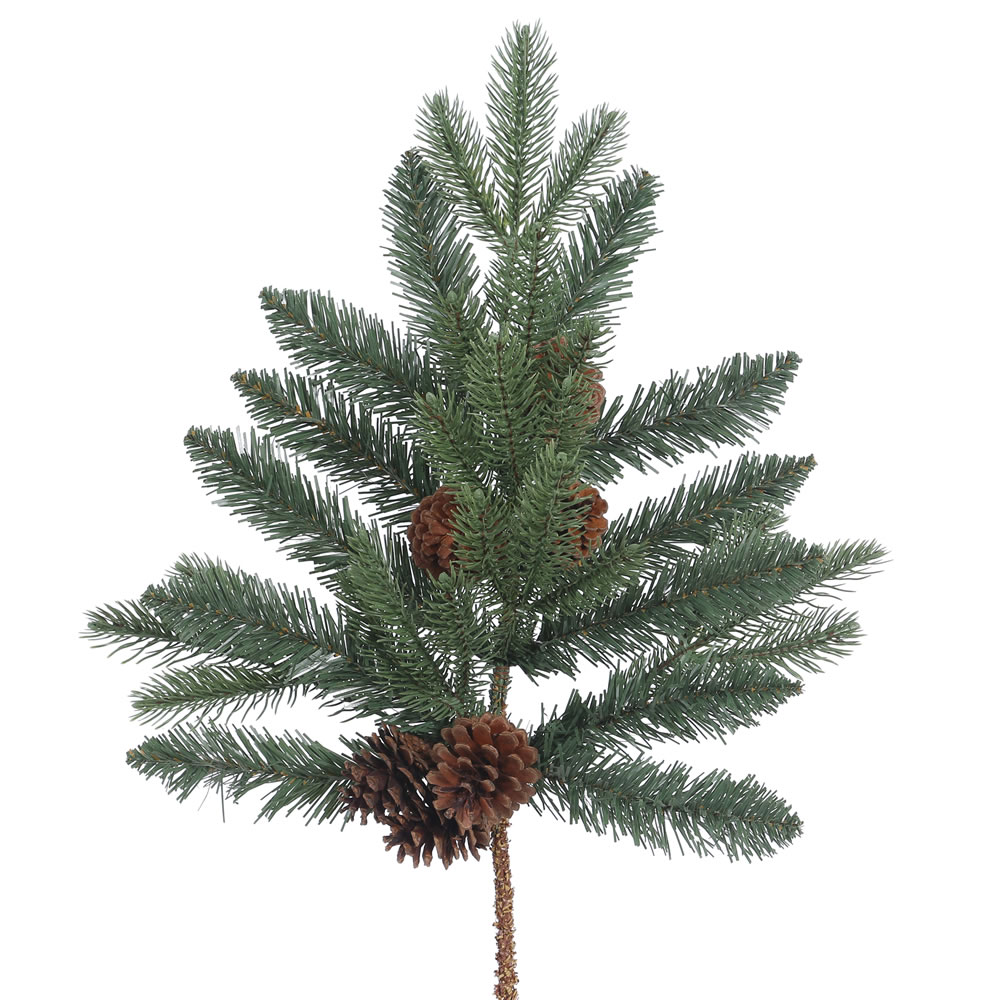 24 Inch Aberdeen Spruce Artificial Christmas Spray Unlit
