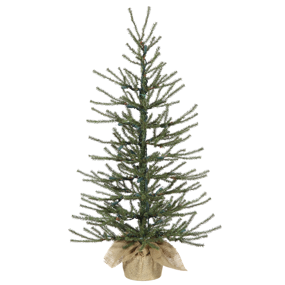 36 Inch Angel Pine Artificial Christmas Tree Unlit