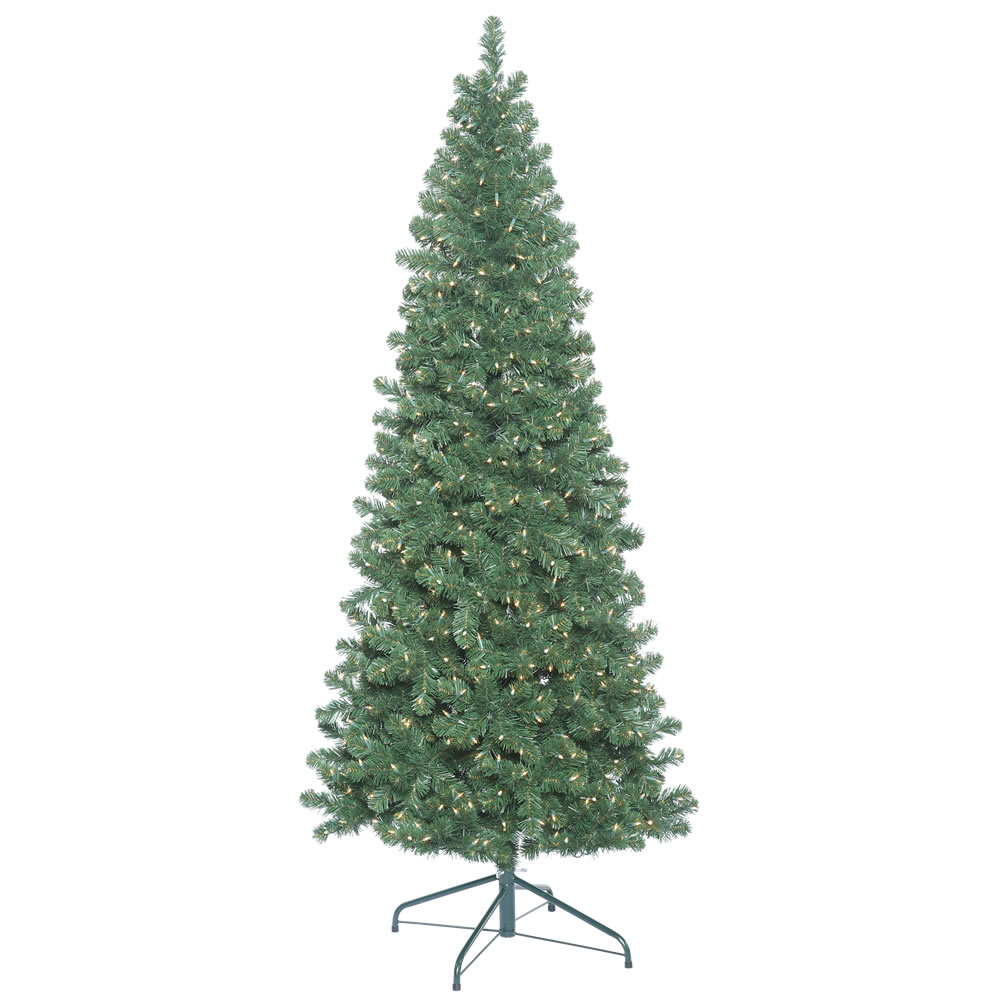 12 Foot Oregon Fir Artificial Christmas Tree 2400 DuraLit Incandescent Clear Mini Lights