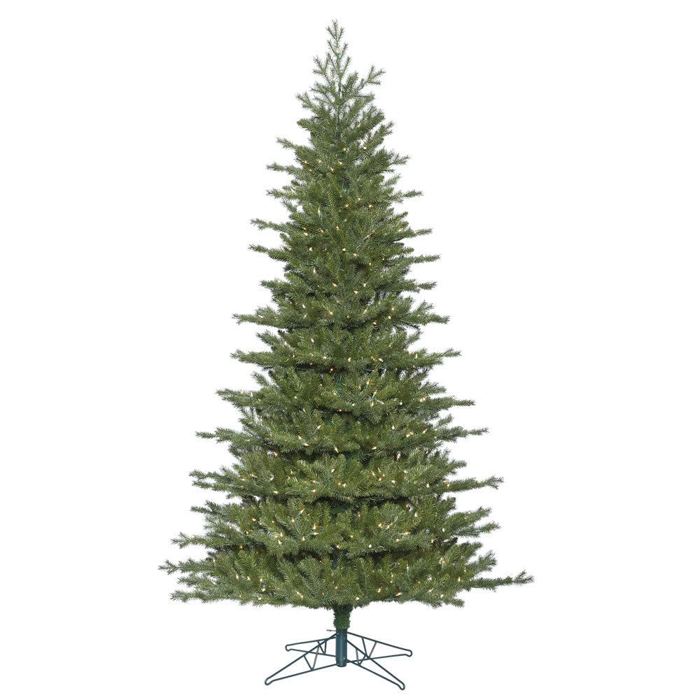 12 Foot Frasier Fir Artificial Christmas Tree 1550 DuraLit Incandescent Clear Mini Lights