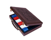 300 Piece Leather Poker Case