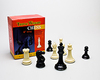 Plastic Chess Pieces - Triple Weight