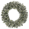 24 Inch Frosted Cashmere Wreath