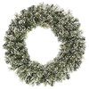 30 Inch Frosted Cashmere Wreath