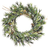 20 Inch Mixed Country Pine Wreath - Case Of 3