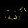 Sitting Sheep LED Lighted Outdoor Christmas Decoration