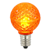 G30 LED Orange Retrofit Replacement Bulbs - C7 Base - Case Of 25
