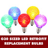 G30 LED Multi Retrofit Replacement Bulbs - C7 Base - Case Of 25
