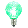 G30 LED Green Retrofit Replacement Bulbs - C7 Base - Case Of 25