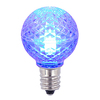 G30 LED Blue Retrofit Replacement Bulbs - C7 Base - Case Of 25