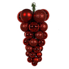 24 Inch Red Grape Cluster Ornament